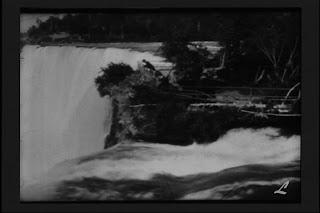 imaagine din filmul Niagara - orseshoe Falls, produs de fratii Lumière