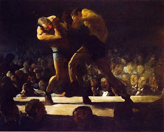 George Bellows, Night Club, 1907, Washington national Art Gallery