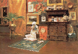 William Merritt Chase, In the Studio, 1882
