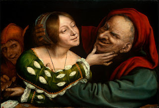 Quentin Massys, Ill-Matched Lovers, c. 1520 - 1525