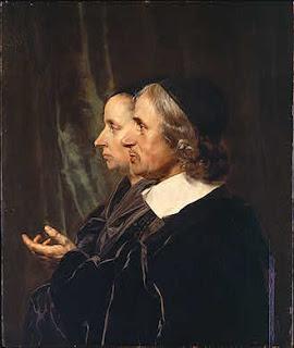 Jan de Bray, Portrait of the Artist's Parents, Salomon de Bray and Anna Westerbaen, 1664