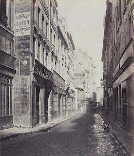 Charles Marville, Rue de Bourdonnais