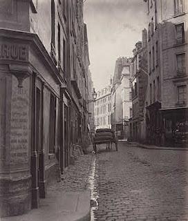 Charles Marville, Rue de la Bucherie