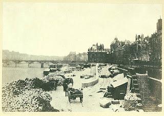Charles Marville, Rive Gauche vue du Pont des Saints Peres