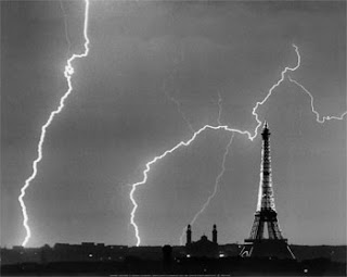 André Kertesz, Orages sur Paris