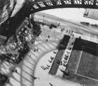 André Kertesz, Under the Eiffel Tower