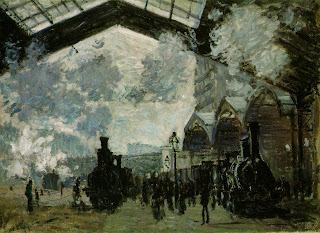 Claude Monet, Gare Saint Lazare, 1877