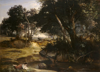 Corot, Forest of Fontainebleau, 1834