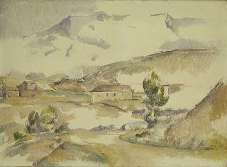 Cézanne, Montagne Sainte Victoire vue prés de Gardanne, c.1887