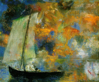 Odilon Redon, Flower Clouds, Chicago Art Institute
