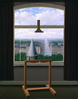 René Magritte - Les Promenades d'Euclide, 1955, THe Minneapolis Institute of Arts
