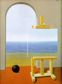 René Magritte - La Condition Humaine, 1935