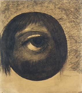 Odilon Redon, Vision, 1879