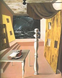 René Magritte, La Traversée Difficile, 1926