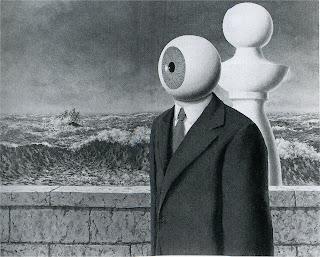 René Magritte, La Traversée Difficile, 1963