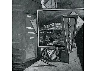 Giorgio de Chirico, Metaphysical Interior, 1916
