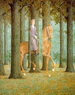 Magritte, Carte Blanche, Washington National Gallery of Art