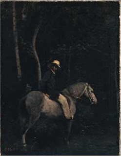Corot, Monsieur Pivot on Horseback, London National Gallery
