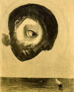 Odilon Redon, Guardian Spirit of the Waters, 1878