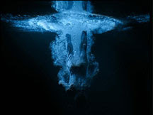 Bill Viola, Five Angles for the Millennium, Angel Departing