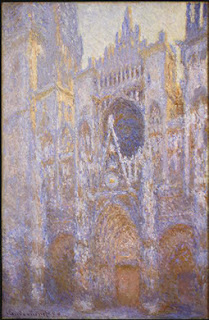 Claude Monet, Rouen Cathedral, Wewst Facade, 1894, Washington DC National Gallery of Art