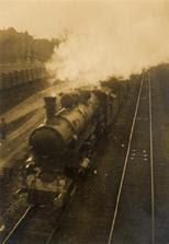 Imre Kinszki - Locomotive, 1929