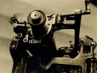 Imre Kinszki - Typewriter, 1930