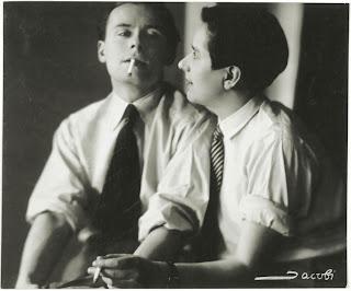 Lotte Jacobi - Klaus and Erika Mann, c. 1928