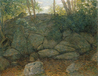 J Alden Weir, Woodland Rocks