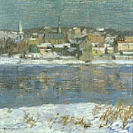Robert Spencer, Across the Delaware