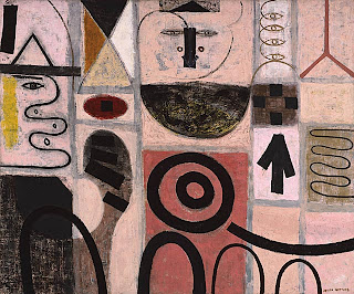 Adolph Gottlieb, The Seer, 1950