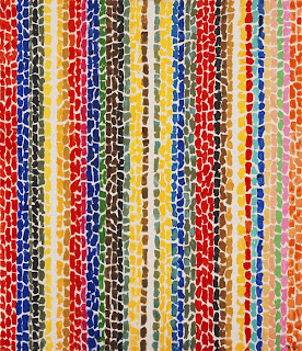 Alma Thomas - Breeze Rustling Through Fall Flowers, 1968