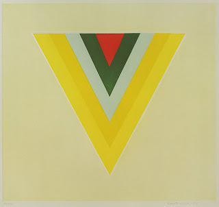 Kenneth Noland - Untitled, 1978