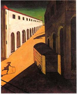 Giorgio de Chirico, Mystère et mélancolie d'une rue, 1914