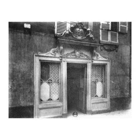 Eugène Atget: 106, Rue de Suffren, Entrance of a Brothel, 1900