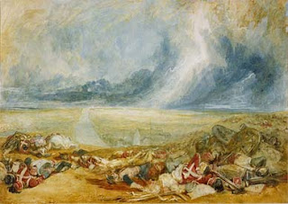 Joseph Mallord William Turner - The Field of Waterloo, 1817