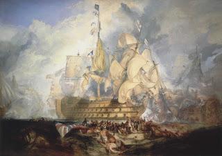 Joseph Mallord William Turner - The Battle of Trafalgar, 21 October 1805