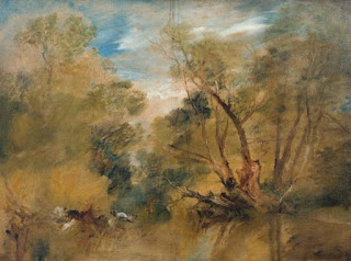 Joseph Mallord William Turner: Willows beside a Stream, 1805, Tate Gallery