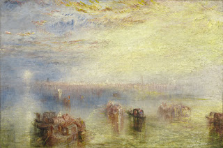 Joseph Mallord William Turner: Approach to Venice, 1844, Washington National Gallery of Art
