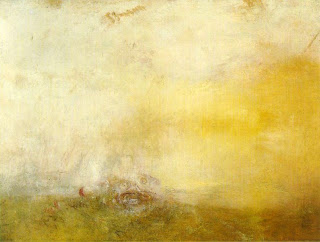 Turner - Sunrise with Sea Monsters 1845, Tate Gallery