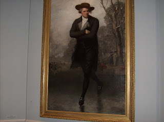 Gilbert Stuart - The Skater (Portrait of William Grand), 1782