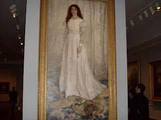 James Abbott McNeill Whistler: White Girl (Symphony in White No 1), 1862