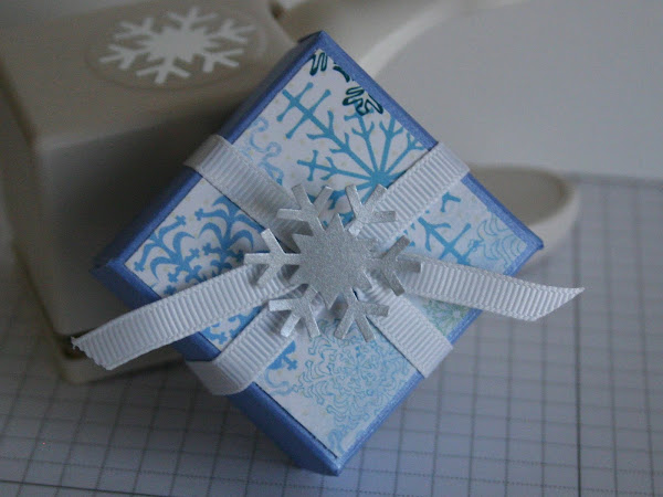 Snowflake Mini Pizza Box