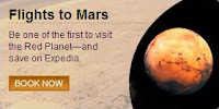 Book your trip to space on Expedia!