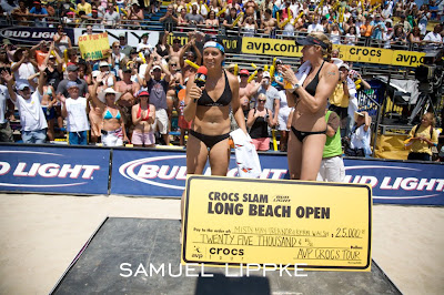 Misty May-Treanor and Kerri Walsh Win AVP Long Beach