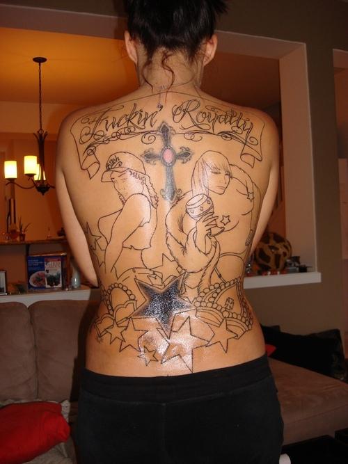Pussy Tattoo Designs 65