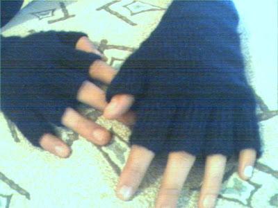 Örgü eldiven modeli