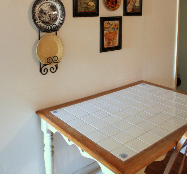 The Charm Of Home: Cottage Table Makeover