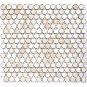 Once Daily Chic Penny Round Tiles