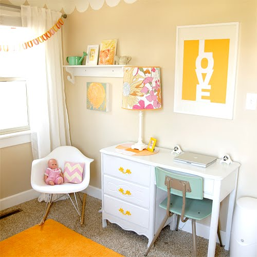 Little Girls Room: Once.daily.chic: Cute DIY Little Girls Room